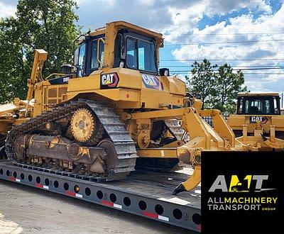 Houston-Anson-Texas-CAT-D6T-transport-hauling