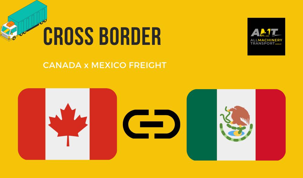 Cross-border-Mexico-Canada-heavy-hauling