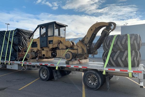the-cat-518-skidder-hauled-across-usa-canada-mexico