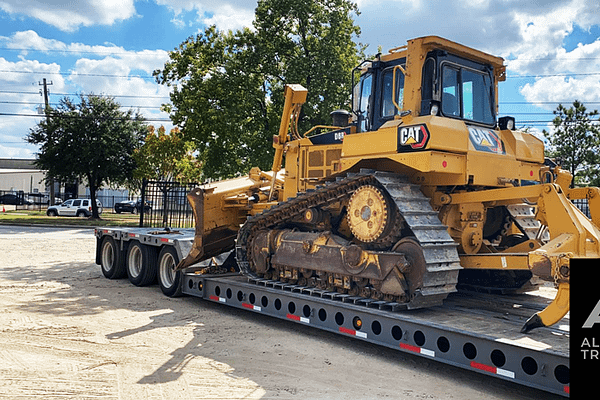 Houston-Anson-Texas-CAT-D6T-transport-hauling